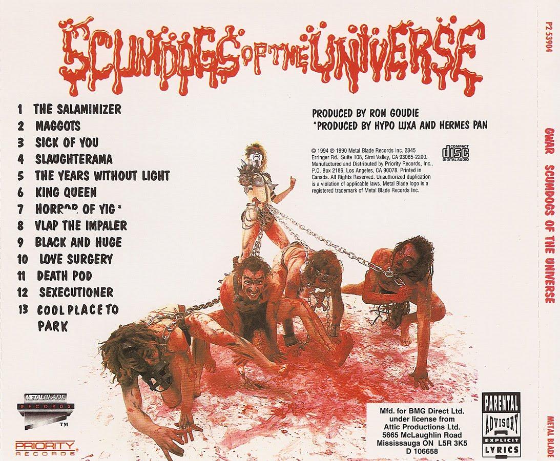 Gwar - Scumdogs Of The Universe