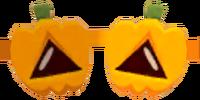 Haunted Pumpkin Glasses