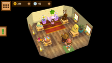 Egg Festival Shop Interior