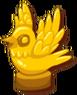 GoldBirdStatue