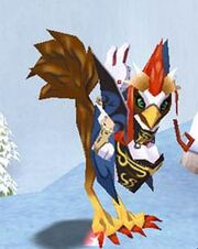 Fly chicken queen guarder