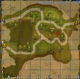 West laywook gypsy map