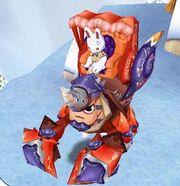 Crab guarder