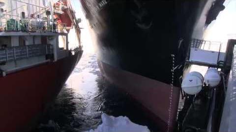 The Nisshin Maru Rams The Bob Barker