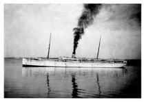 SS Victoria White Hull