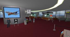 Nyhavnafjord Regional Airport Terminal, looking NE (02-15)