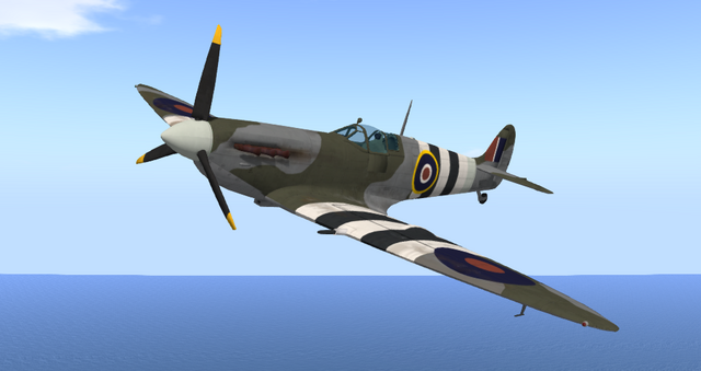 File:Supermarine Spitfire Mk VB (E-Tech).png