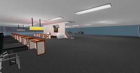 DT Regional Skyport terminal, -2 floor