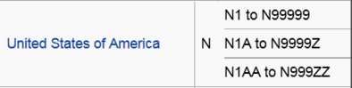 Aircraft registration USA