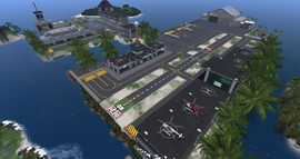 Seychelles Isles Airport, looking NE (03-15)