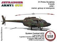 Bell 206 JetRanger Army1 GUN (Apolon) Promo