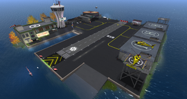 Nyhavnafjord Regional Airport, looking NE (11-14)