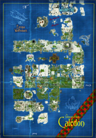 Map - Independent State of Caledon