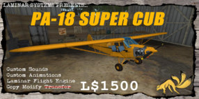 PA-18 Super Cub (Laminar) Promo
