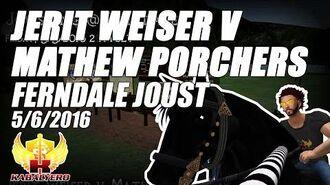 Jousting In Ferndale (5 6 2016) ★ Jerit Weiser v Mathew Porchers ★ Second Life Jousting