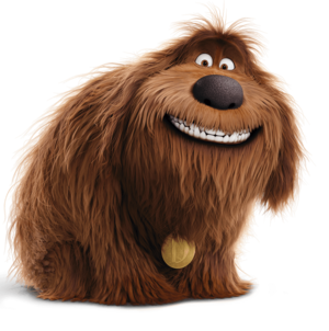 Duke the secret life of pets transparent 01
