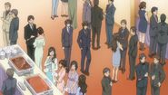 Chiaki and Yuu at the New Years Party ep06