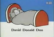 Sleeping david donald doo