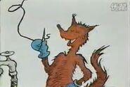 Fox sews hose on joes nose