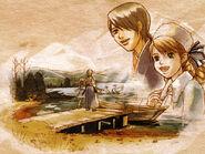 Anastasia and kurando illustration