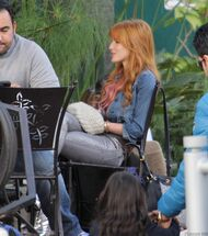 Bella Thorne Lunch39