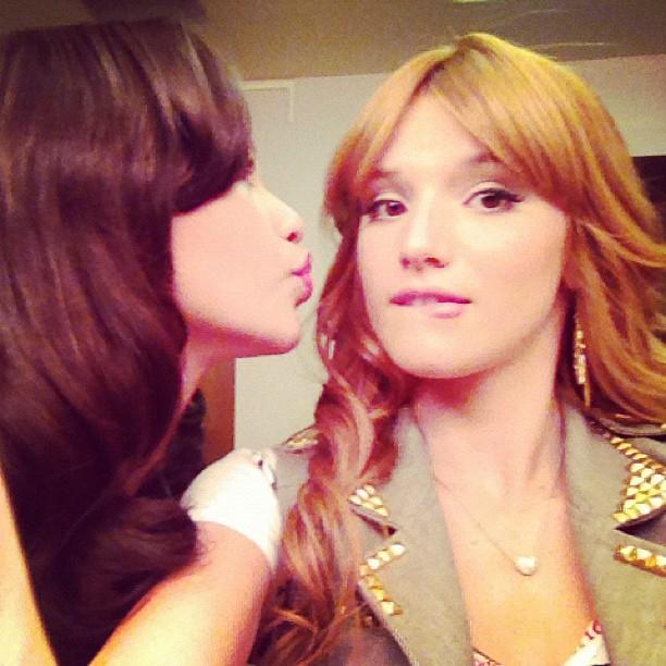 February 15  2012 - Zendaya96 Zendaya And Bella Thorne Kissing