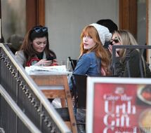 Bella Thorne Lunch16