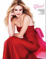 Caroline Sunshine Glitter Mag 03