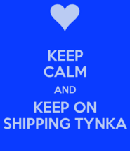 Keep-calm-and-keep-on-shipping-tynka poster