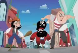 Pushy Pirate Posse