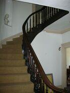 Waukegan 438 interior front staircase