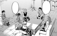 A meeting of the Survey Corps