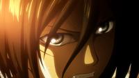 Angered Mikasa