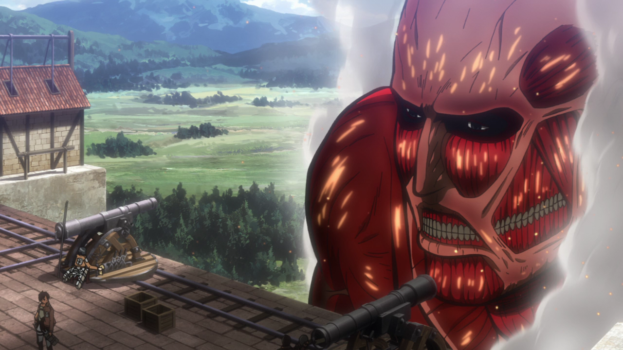 Shingeki no Kyojin Colossal Titan Wallpaper The Colossal Titan Reappears