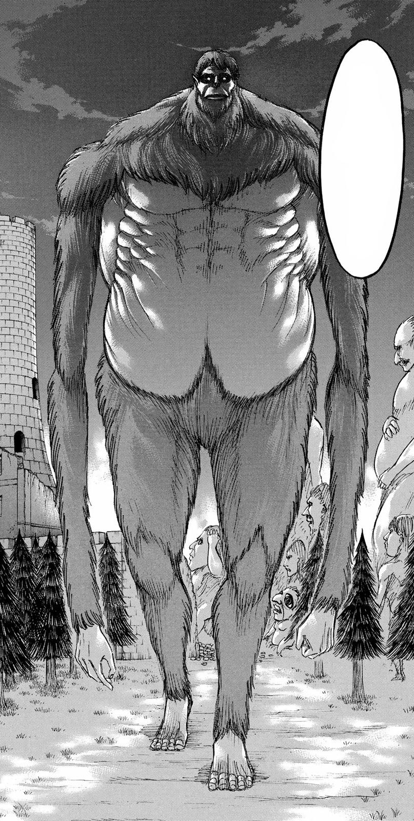 *Spoilers* Beast Titan |AOT| Minecraft Skin