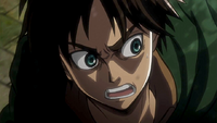 Eren wants to help the soldiers