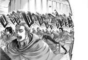 The Survey Corps Take Off