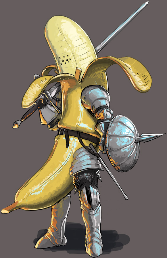 Image - The Banana Knight.png | One Piece: Ship of fools