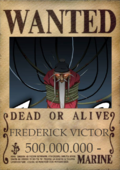 Frederick wanted poster