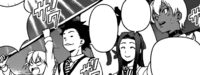 Ikumi and Isami sits with the Polar Star