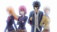 Alice intimidates Erina (anime)