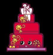 Shopkin Wedding Cake Toy