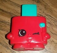Mcdonalds polly polish toy red