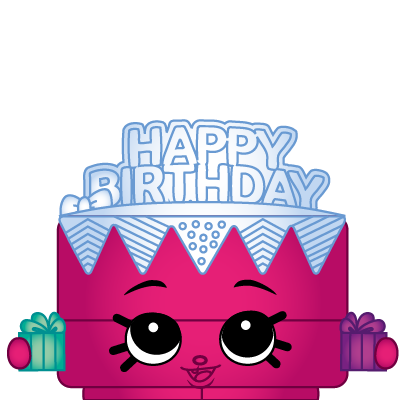 Shopkins Birthday Betty Cake