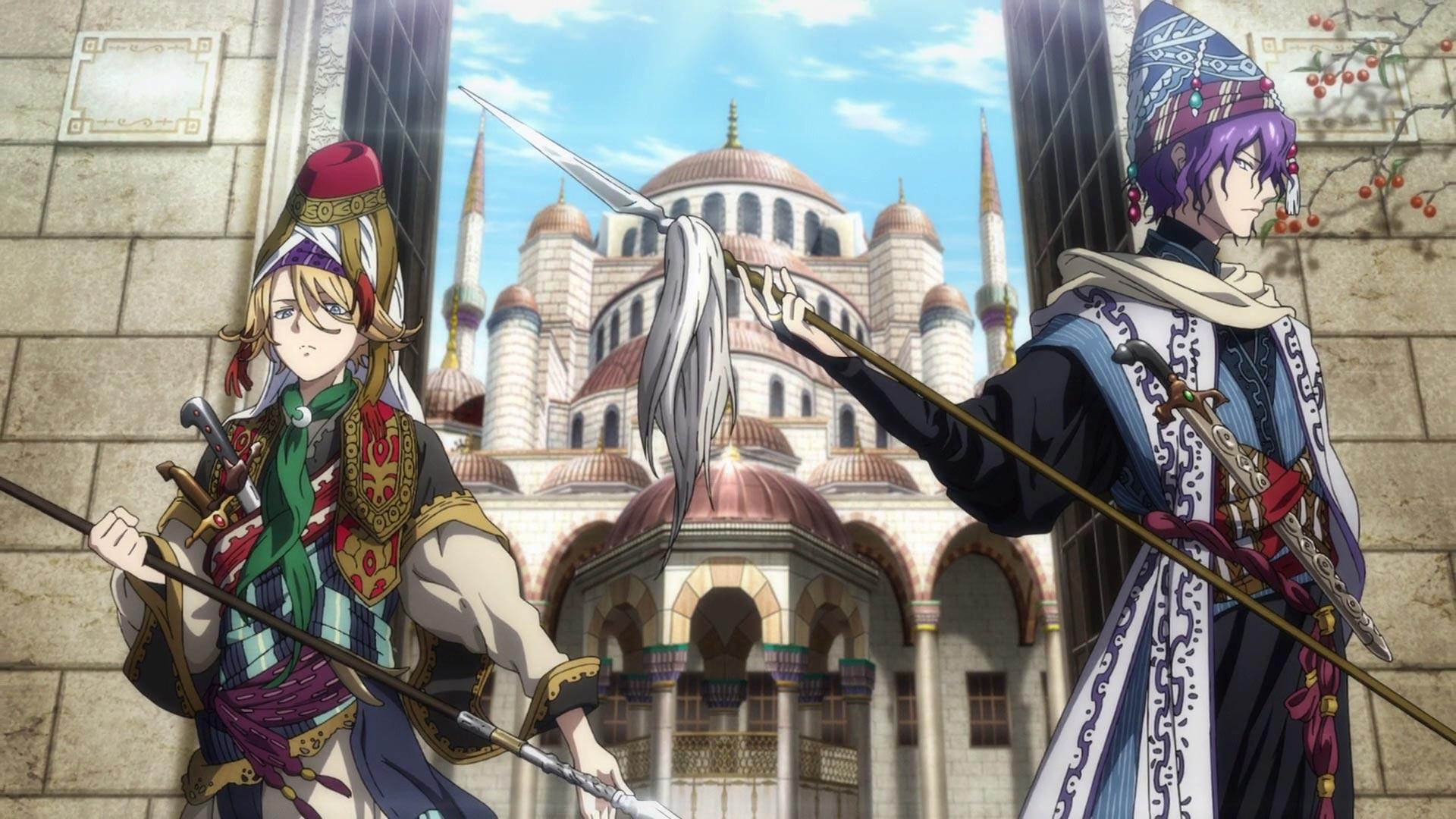 الانمي Shoukoku no Altair الحلقة 5 مترجم