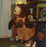 Billy Bob at ShowBiz Pizza in Fayetteville, Arkansas (crop)