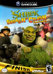 Shrek Smash n Crash Racing Cover