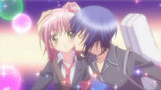 Ikuto kisses Amu