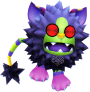 Pricklemane (nightmare)