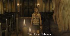 Heather pretending to be Alessa